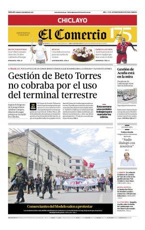 El Comercio Chiclayo en PerúQuiosco