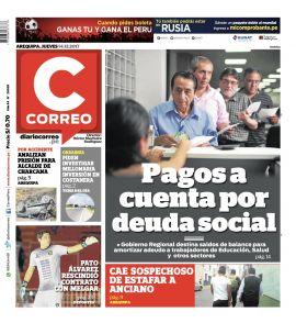 Diario Correo Arequipa en PerúQuiosco