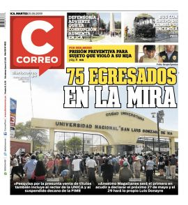 Diario Correo Ica en PerúQuiosco