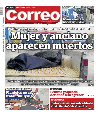 Diario Correo Pasco en PerúQuiosco