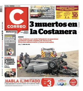 Diario Correo Tacna en PerúQuiosco