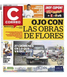 Diario Correo Tumbes en PerúQuiosco