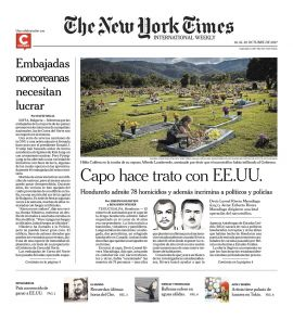 The New York Times en PerúQuiosco