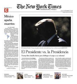 The New York Times en PerúQuiosco