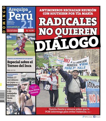 Peru21 Arequipa en PerúQuiosco