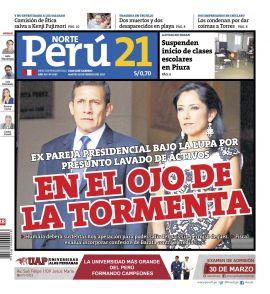 Peru21 Norte en PerúQuiosco