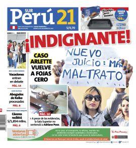 Perú21 Sur en PerúQuiosco