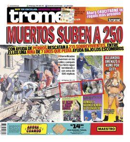 Trome Huancayo en PerúQuiosco