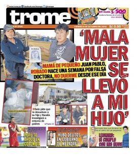 Trome Sur en PerúQuiosco