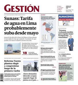 DIARIO GESTIÓN - PERÚ