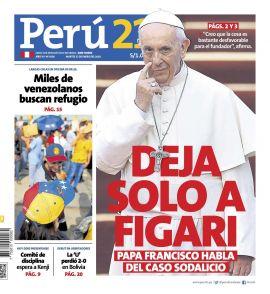 Diario PerÚ 21 en PerúQuiosco