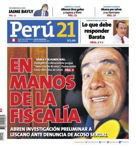 Perúquiosco El Comercio Gestión Peru21 Trome Depor Publimetro
