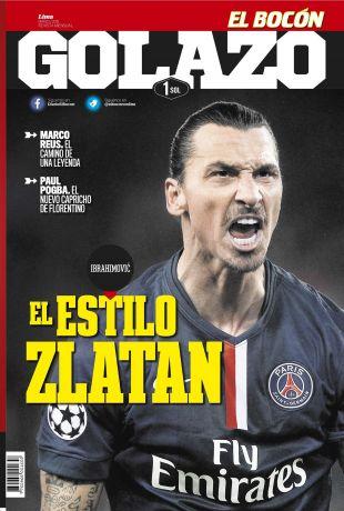 Revista Golazo en PerúQuiosco